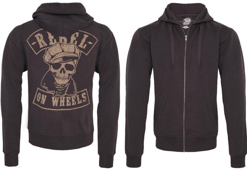 Zip Hoodies Rebel On Wheels Shop